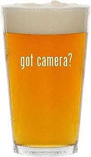 got camera? - Glass 16oz Beer Pint