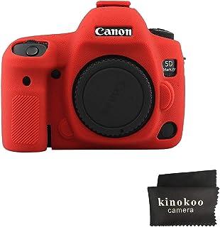 Kinokoo - Carcasa de Silicona para Canon EOS 5D Mark IV (Antideslizante)
