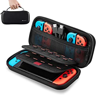 Nintendo Switch Carrying Case, Geekper Protective Hard Portable Travel Carry Case EVA Shell Pouch for Nintendo Switch Cons...
