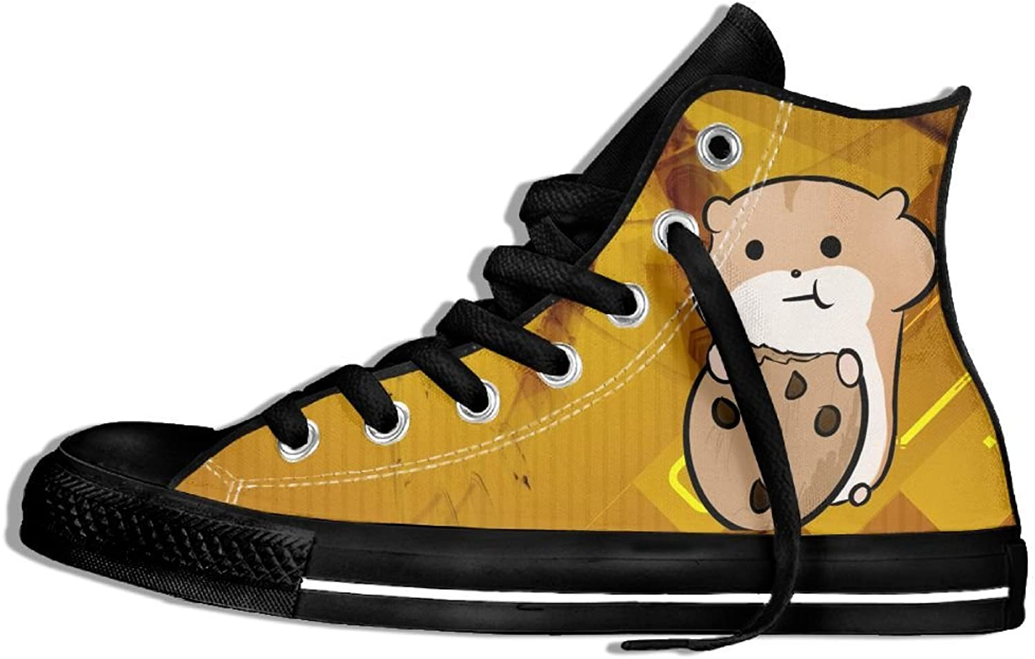 Hamster High Top Classic Casual Canvas Fashion shoes Sneakers For Women & Men