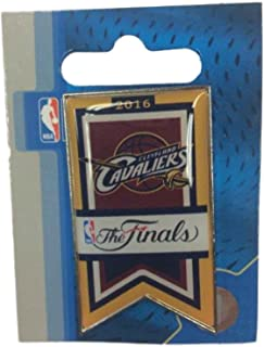 aminco Cleveland Cavaliers 2016 NBA Finals Team Banner Collectible Lapel Pin