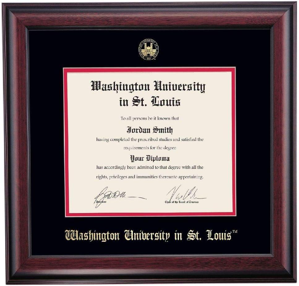 OCM DiplomaDisplay Traditional Frame Washington i for University Free Shipping New Long-awaited