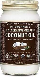 Dr. Bronner's - Regenerative Organic Coconut Oil (Whole Kernel, 14 Ounce)