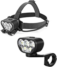 Magicshine MTB Mountain Bike Lights Combo, Monteer 3500S Helmet Light and Monteer 8000S Bike Headlight. Over 11000 Lumen T...
