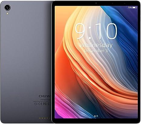 CHUWI HiPad Plus Tablet 11 Pulgadas Android 11 2176 * 1600 Alta Resolución Tableta 4GB RAM +128GB ROM MT8183 Procesador Octa-Core 2.0GHz con 13MP Cámaras Delantera y 5MP Trasera.
