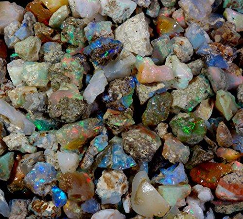 Piedras y Joyas de Lara GEMS, 251 Quilates, 100% Natural, multidestellos, ópalo etíope