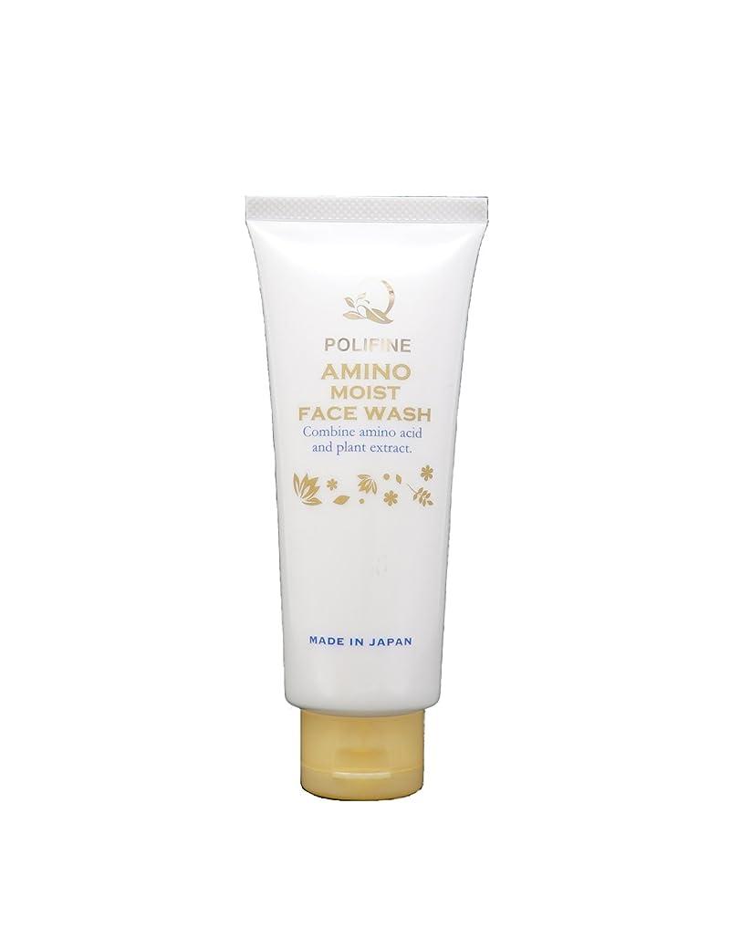 蜜差傾向がありますポリファイン アミノ酸洗顔 濃密泡&素肌しっとり  POLIFINE AMINO MOIST FACE WASH