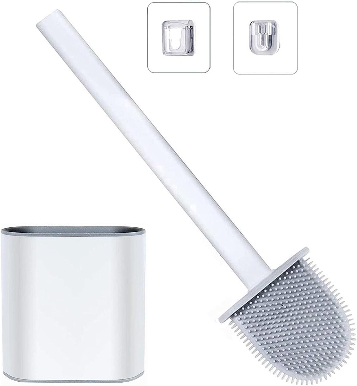 EKMON Toilet Classic Brush SilIcone Flex With D Holder Choice Set