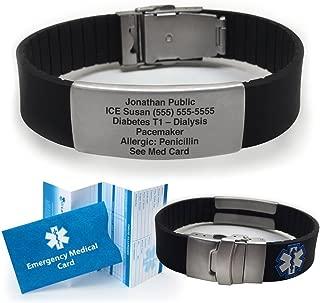 boys medical alert bracelet