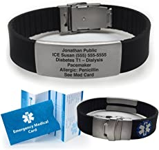 medical id bracelets for gastric bypass patients