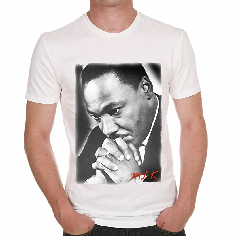One in the City Martin Luther King Prying Men's T-Shirt Celebrity Star