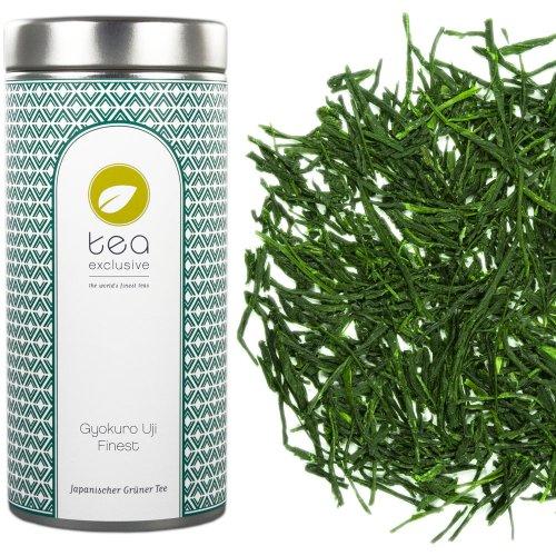 tea exclusive - Gyokuro Uji Finest, Grüner Tee, Japan, Dose 50g