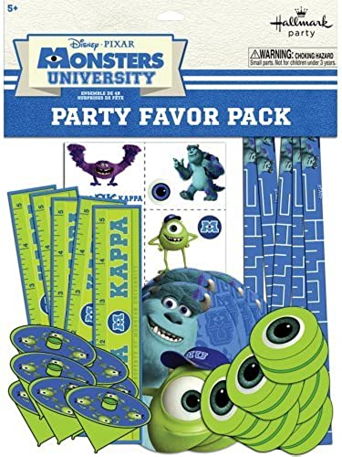 Disney Monsters U Party Party Favor Packs - 8 per Pack by SmileMakers