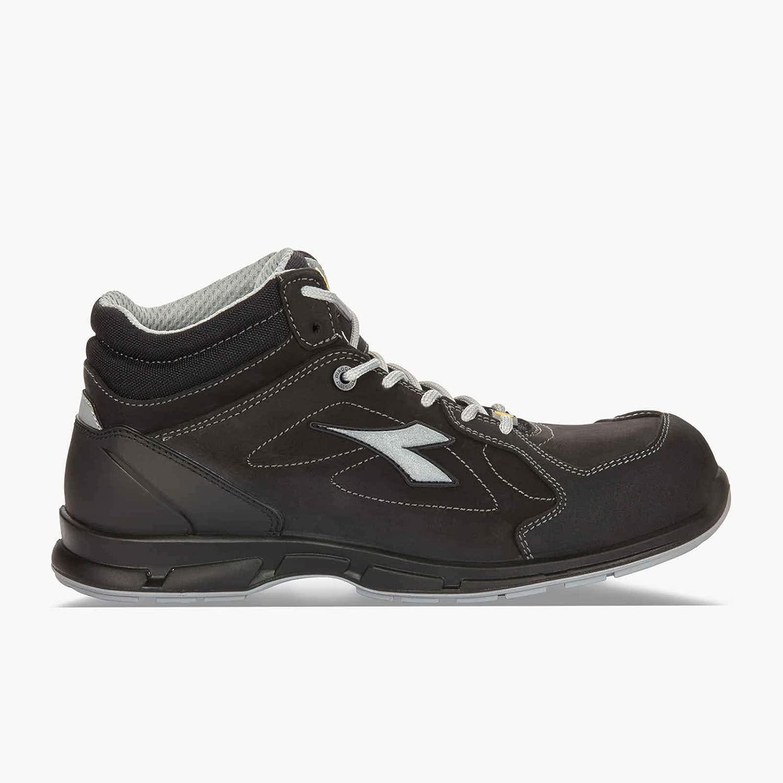 Diadora Sicherheitsschuhe D-FLEX HIGH S3 SRC ESD - - schwarz 36 schwarz  Heute online einkaufen