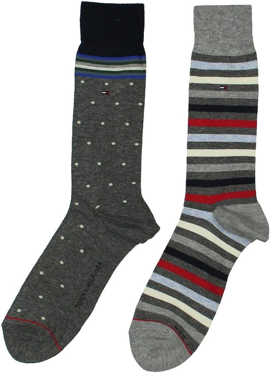 Tommy Hilfiger Men's 2-Pack Trouser Dress Socks