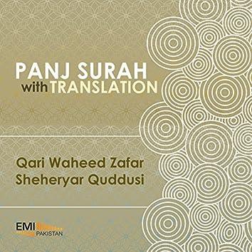 Panj Surah with Translation