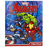 Marvel: Avengers: Look and Find Activity Book