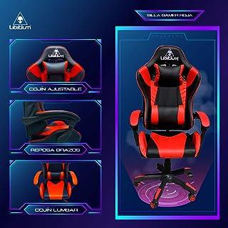Silla Gamer Gaming Calidad Premium Reforzada Hasta 120Kg Video Juegos Gaming Reclinable Cómoda Consolas Pc Juegos Alien Co...