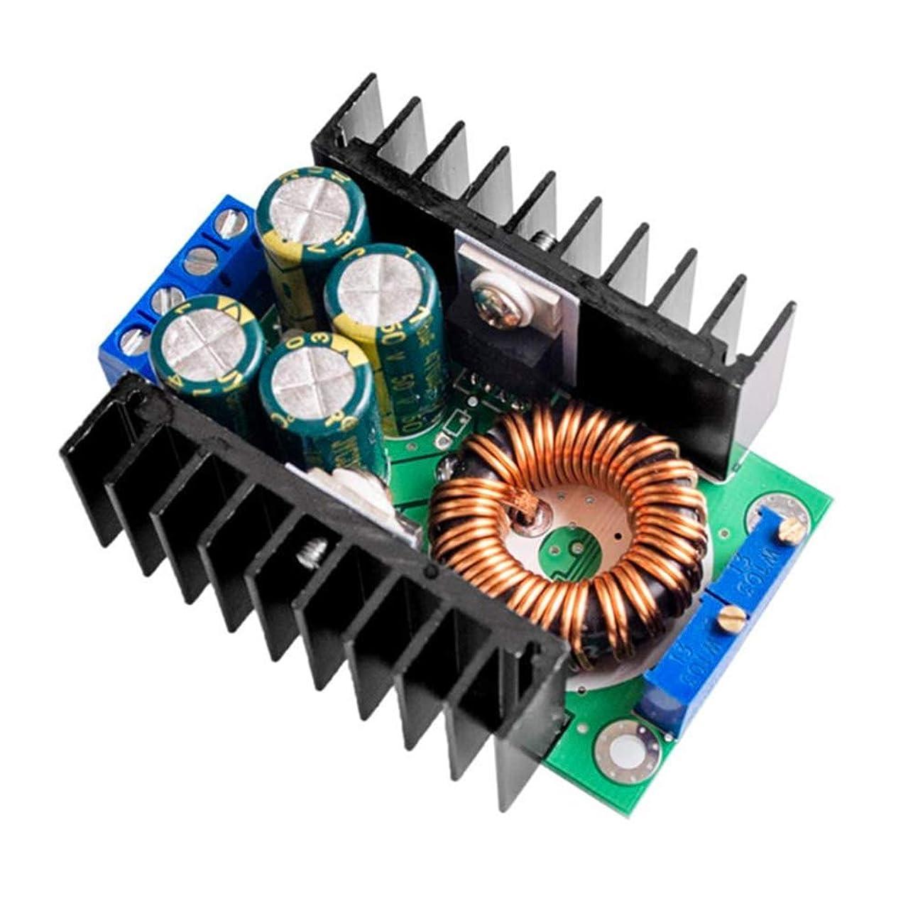 近傍どこにも出来事Funtoget パワーモジュール、ヒートベッドパワーモジュール、充電モジュール、降圧型コンバータ、DC-DC CC CV降圧型コンバータ降圧型電源モジュール7-32V?0.8-28V 12A 300W