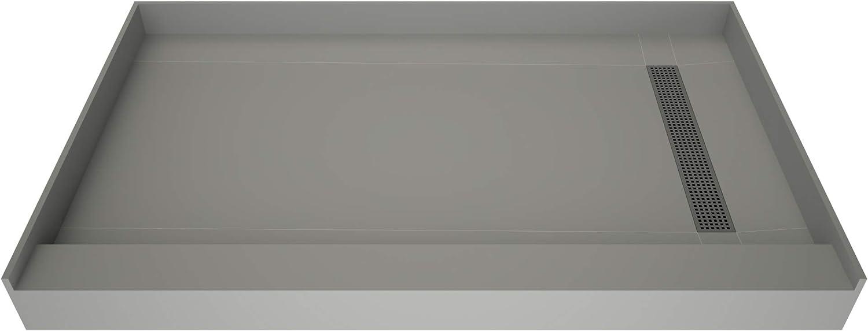 Tile Redi High quality T3048R-SCDNBVZ Shower Pan Right Flashing with Ranking TOP3 Kit Dra
