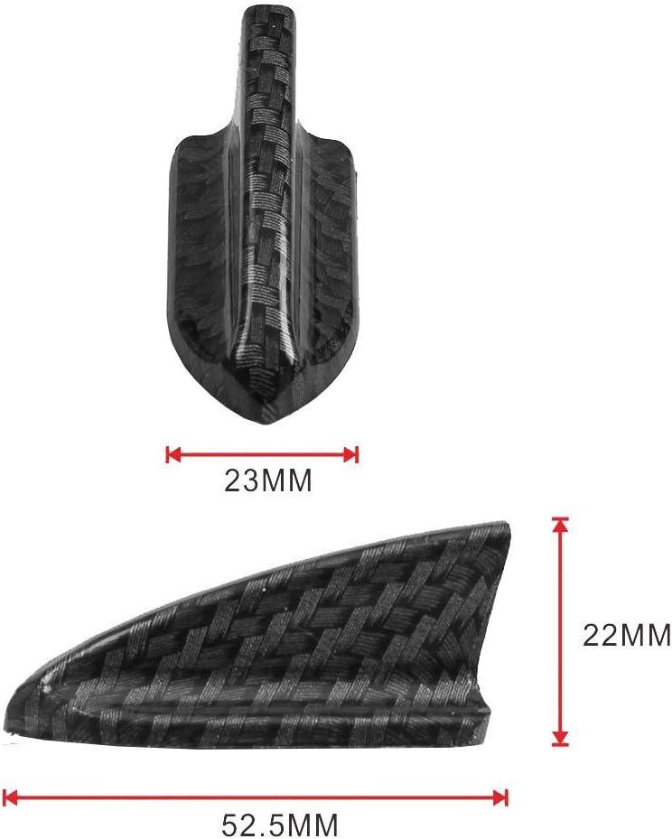 OSIAS 7PCS Vortex Generator Flexible PP EVO-Style ROOF Shark FINS Spoiler Wing KIT BLACK2