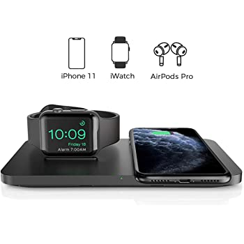 2 in 1 iPhone & Apple Watch Charging