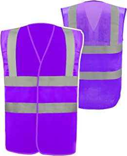 Safety Vest Reflective stripes Class 2 multi-color Vest Bright Construction Workwear for men and women.