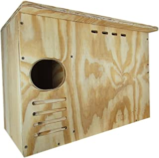 JCs Wildlife Barn Owl Nesting Box Large House Crafted in USA w