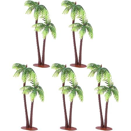Miniature Palm Trees ~ Tropical Fairy Garden or Terrarium Accessories ~ Coastal Home /& Party Accents