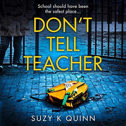 Don't Tell Teacher audiobook cover art