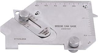Mediador de Pulgadas y Métrico Puente Cam Gauge Prueba Ulnar Mediador de Inspección de Soldadura Calibre