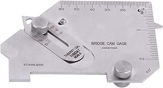 Inch & metric Bridge Cam Gauge Gage Test Ulnar Welding Inspection Cam Type Gauge MG-8B with Slot