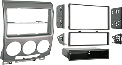 Metra 99-7509 Single DIN/Double DIN Installation Kit for 2006-2007 Mazda 5 Vehicles (Silver)