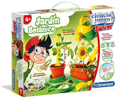 Clementoni - Ciencia Junior, jardín botánica (55156.9)