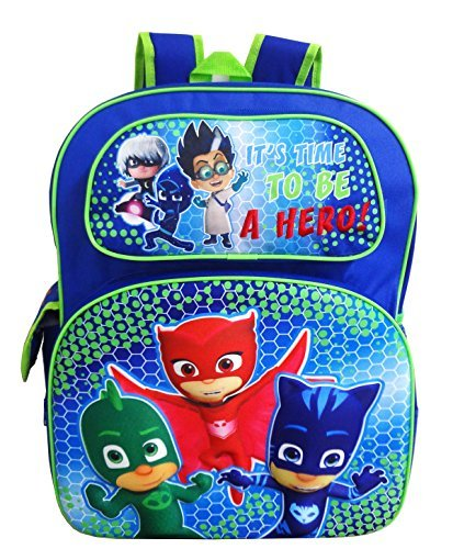 PJ Masks 16' 3D Pop Out Large School Backpack