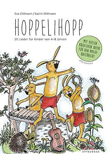 Hoppelihopp: 20 Lieder für Kinder von 4-8 Jahren. Mit Playback-CD