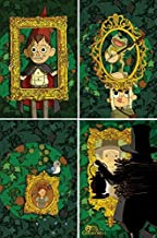 Over the Garden Wall Issue 1-4 BOOM! Exclusive Jordan Crane Variant Set - Bundle of Four (4) Comics
