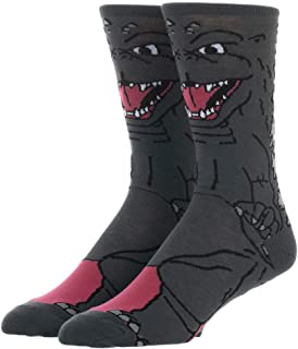 Godzilla Socks Godzilla Apparel Mens Godzilla Accessories Godzilla Gift