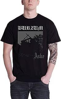 Mens T Shirt Black Aske Album Band Cover Official
