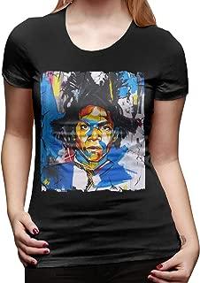 Jean Michel Basquiat T Shirt Womens Shirt Classic Short Sleeve Tee