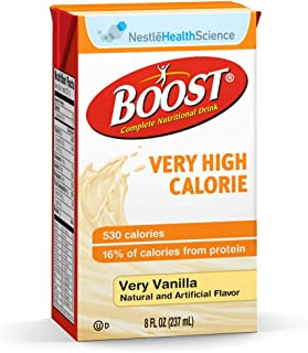 Oral Supplement Boost VHC Very Vanilla 8 oz. Carton Ready to Use, Case of 27