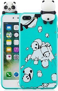 a78b1ed415a CoqueCase Funda iPhone 8 Plus Silicona 3D Suave Flexible Ultrafina Goma  Carcasa iPhone 7 Plus Ultra