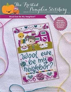 Wool Ewe Be My Neighbor Cross Stitch Chart