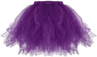 THE LONDON STORE Women's Multi-Color Tulle Short Skirts