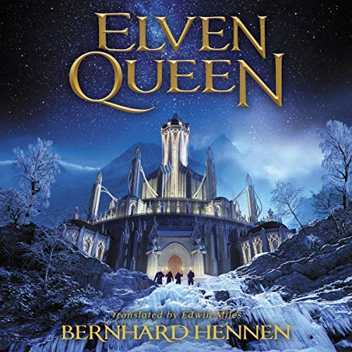 Elven Queen audiobook cover art