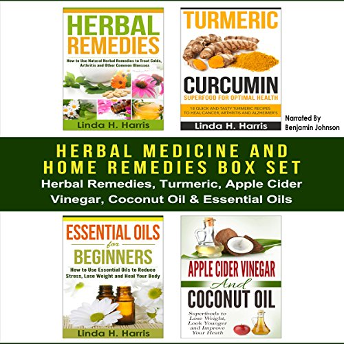 Herbal Medicine and Home Remedies Box Set audiobook cover art
