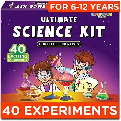 Einstein Box Science Experiment Kit   Chemistry Kit  Soap Making Kit   Toys for Boys and Girls Aged 6-12 Years   Birt...