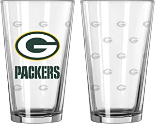 packers pint glasses