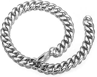Mens Stainless Steel Hip Hop Xxxtentacion Adjustable Choker Curb Cuban Link Chain Rapper Necklace