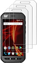 (Pack of 3) Gzerma Screen Protector Film for Cat S41 High Definition Clear Case Friendly Easy to Install Shockproof Front Screen Protective Cover Defender Film for Caterpillar CAT S41 Anti-Scratch